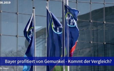 Aktie im Fokus: Bayer profitiert von Gemunkel - Kommt der Vergleich?
