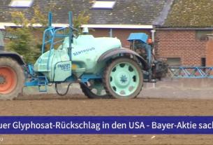 60 Sekunden Wirtschaft am 20.03.2019 Bayer-Aktie